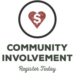 Community Involvement - Register today